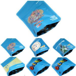 Embalagem Mylar 5styles frete grátis Bolsa de Cereais Leite Bolsas Mylarbag Dhl 3,5 cookies Mylar sacos à prova de cheiros AjuAw
