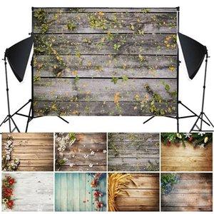 Rétro grain en bois Planche Conseil photo Toile de fond Photographie fond de studio Tissu Fond d'écran photo Decors Tissu Toile de fond Polonais rideaux