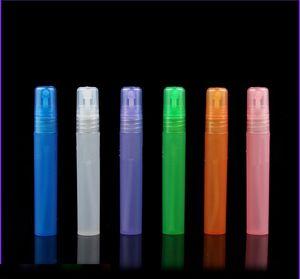 Wholesale ! 3ml 5ml 8ml 10ml plastic frosted perfume atomizer, spray bottle, perfume bottle Free shipping