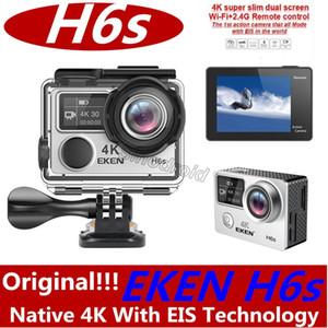 كاميرا EKEN H6S Ultra HD الأصلية الأصلية مع كاميرا رياضية EIS 30M مقاومة للماء بدقة 4 كيلو / 30 إطارًا في الثانية بسرعة 1080 بكسل / 60 إطارًا في الثانية مع تقنية EIS