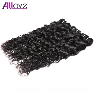 A Free Shipping Brazilian Hair Extensions 3pcs Lot Cheap 8a Unprocessed Human Hair Weaves Peruvian Water Wave Virgin Hair Wefts Wholesa