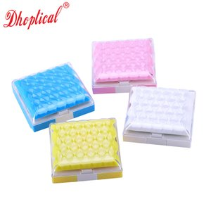 contact lens case 10pcs colorful case contact lens box eyeglasses accessories 875 free shipping by dhoptical