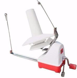 Máquina enrolladora manual para la costura de la aguja del cable de la máquina