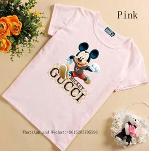 Children Short Sleeve T-shirt Summer New Pattern Cartoon Korean Edition Pure Cotton Clothes Male Girl 031606