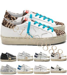 Italy Old Style Fashion Sneakers Multicolor Superstar Genuine Leather Villous Dermis Men Women Casual Shoes Hi Star Shoes Size US 35-45 #9