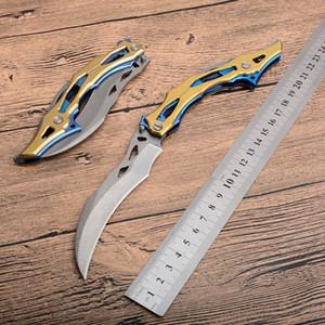 1 Adet Transformers Survival Taktik Katlanır Bıçak 9Cr18 Taş Yıkama Bıçak Çelik Kolu EDC Cep Bıçaklar Hediye Bıçak