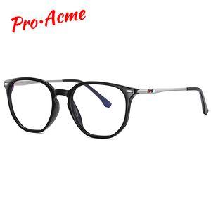 Pro Acme TR90 Blue Light Blocking Glasses for Men Women Polygon Frame Bluelight Glasses Fashion Ccomputer Gaming PC1638