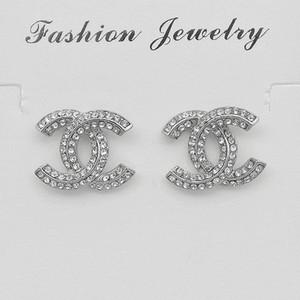 Luxus-Designer-Ohrringe Schmuck-Frauen Ohrringe Kleediamantohrring Edelstahl Silber Gold 18k elagant Ohrring