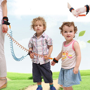 Anti Lost Band Kid Child Safety Harness Anti Lost Strap Wrist Leash Walking 1.5m outdoor parent baby leash Rope Wristband Belt LJJK2198