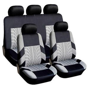 Adeeing 9PCS / Set universel respirant Car Seat Cover Protector Fit Universal La plupart des voitures Covers voiture de coiffure Automobile Accessoires