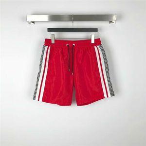 Summer Fashion Men Beach Shorts Waterproof Fabric designer Mens Swim Board Shorts Quick Drying Beach Pants Men Runway Sport Surf Shorts