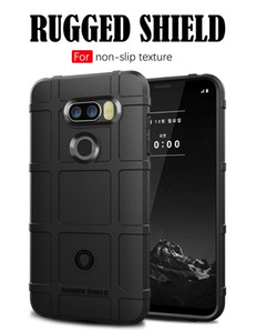 وعرة درع درع القضية المدافع ل LG Signature Edition 2017 2018 V30 V35 V40 ThinQ عدم الانزلاق سيليكون الوفير صدمات