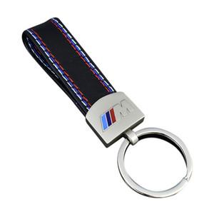 Fashoin Métal + Porte-clés En Cuir De Voiture Porte-clés Porte-clés Pour BMW M Tech M Sport M3 X3 X3 E46 E39 E60 F30 E90 F10 F30 E36