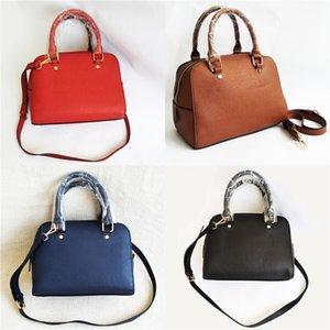 Acordeón Michael Kor del bolso del diseñador famoso de la marca de moda bolso Litchi patrón de cuero repujado bolsas de mano # 669