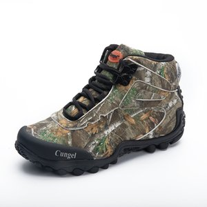 New Camo Miliatry Tactical Boots Men Sport Waterproof Hiking Shoes Men Outdoor Hunting Boots Mountain Shoes Man Delta Army