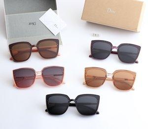 fashion Luxury evidence sunglasses retro vintage men designer shiny gold frame laser logo women top quality with package
