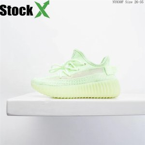 2020 New Kids Kanye West Running Shoes Infant Children Sports Shoes Boys And Girls Outdoor Tennis Trainers All Sky Star Eakers#744