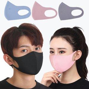 Рот маска против пыли Загрязнение Хлопок Маска моющийся многоразовый пылезащитный респиратор Маска для Мужчины Женщины Дети