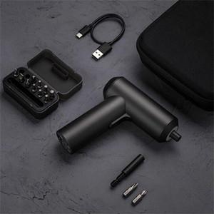 Xiaomi Youpin destornillador eléctrico recargable eléctrica Destornillador control manual para el hogar inteligente Con 12 PCS S2 tornillo Bits