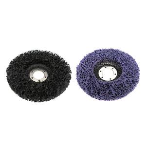 2 unids 4.5 '' 115mm Fácil tira de discos Limpios de pintura de óxido Discos de molinillo de pintura | Púrpura negro