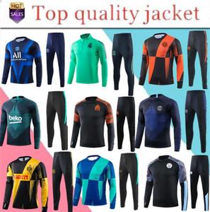 Yeni 19 20 erkek ajax eğitimi takım elbise real madrid futbol eşofman chándal futbol futbol Marsilya ayak ayak kiti eşofman