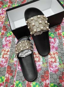 Erkekler ve kızlar alanı için New53 marka terlik moda rahat terlik / hem açık plaj inci sandalet açan Flip-flop