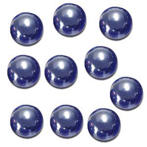 10 pcs marbles 16mm glass marbles knicker glass balls decoration toy dark blue shaper trinmmer shirts supplies