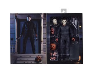 Halloween Hot Movie Horror Michael Myers action figure Scary Latex Masks Helmet Halloween Costume Party Props Masks