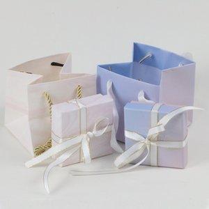 Emballage de bijoux ruban deux pièces bracelet main braceletpacking ins boîte cadeau sac à main boîte à bijoux collier bracelet
