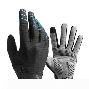 Cycling Gloves Full Finger Sport Shockproof MTB Bike Touch Screen Gloves Man Woman Bicycle Sponge Long Finger Glove