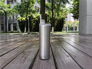 Verre 15 oz avec couvercles bouteilles en acier inoxydable en chute libre aux USA double gobelet en acier inoxydable 304