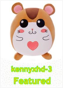 Neue kreative netter Ausdruck Hamster Plüsch-Spielzeug Taillenkissen multifunktionale sphärische verheißungsvolle Maus doll doll