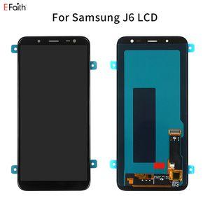 Painel LCD TFT Qualidade J6 para Samsung Galaxy J6 2018 J600 J600F J600Y Display LCD Touch Screen