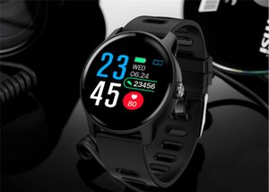 S08 Smart watches Waterproof Sports for iphone phone Smartwatch Heart Rate Monitor Blood Pressure Functions For Women men kid