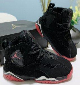 Дизайнер детские 7 детские баскетбольные туфли молодежные детские спортивные 7s спортивная обувь для мальчиков обувь для девочек Chaussures Pour Enfant EU размер:28-35