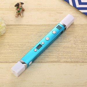 Myriwell USB الطاقة 3D القلم فن الرسم الذكية القلم الطباعة 3D أقلام للأطفال الإبداعية التعليم لعبة الابتكار التعامل مع خربش نموذج