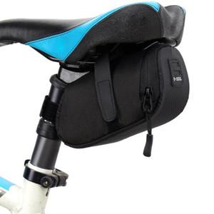 6 Renkler Naylon Bisiklet Çanta Bisiklet Su Geçirmez Depolama Eyer Çanta Koltuk Bisiklet Kuyruk Arka Kılıfı Çanta Saddle Bolsa Bisiklet Aksesuarları