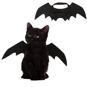 القطط مضحك تأثيري زي هالوين الحيوانات الخفافيش أجنحة القط الخفافيش زي صالح حزب الكلاب القطط لعب اكسسوارات pet حزب ديكور
