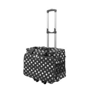 내구성 옥스포드 천 스토리지 가방 트롤리 여행 대용량 가정용 다기능 재봉틀 가방