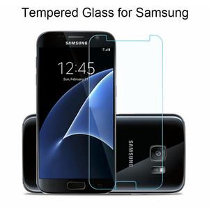 Protector de pantalla de cristal 9H para Samsung Galaxy S2 S3 S4 S5 Mini vidrio templado para el Samsung S6 S7 cristal en el primer Gran G360 G530