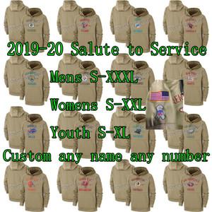 2019-20 bola Saludo a servicio del suéter con capucha Todo encargo del equipo para mujer para hombre de pie juventud jerseys cualquier nombre de cualquier número S-XXXL de la orden de la mezcla