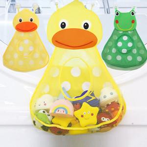 stockage bébé jouets de bain bébé Douche de bain Jouets Little Duck Petite grenouille bébé enfants Toy stockage Mesh avec une forte Ventouse Sac Jouet de bain