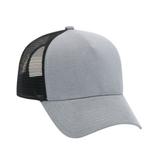 2020 Cotton Flannel Trucker Hat with Adjustable Mesh Back SOLID Baseball Caps
