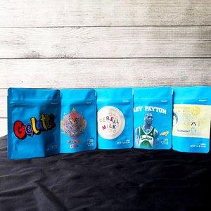 COOKIES California SF восьмой 3.5G Майларовых восковые Сумки 420 Упаковки Gelatti Cereal Молоко Пэйтон Печенье мешок с голограммой наклейка D0101