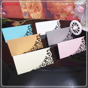 Guests Name Place Invitation Table Card Wedding Favor Decoration Laser Cutting Party Seating Card Table Cards