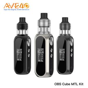 Kit originale OBS Cube 80W MTL con motore MTL Atomizzatore Built-in 3000mAh capacità Kit OBS Cube MTL