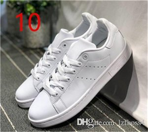 2018 New Originals Stan Smith Scarpe Donna Uomo Sneakers in pelle casual Superstars Skateboard Bianco Blu Scarpe Stan Smith ZEOUT4