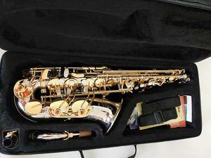 Marca calda NUOVO YANAGISAWA W037 Sassofono nichelato Gold Key professionale YANAGISAWA Super gioco Sax Bocchino
