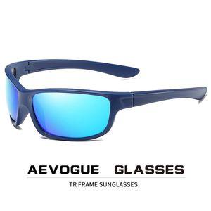 AEVOGUE uomini polarizzati degli occhiali da sole Sport TR Telaio del progettista di marca degli occhiali di protezione UV400 Occhiali da sole AE0870