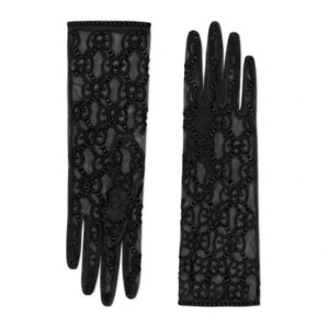 Luxury long Lace Bride Bridal Gloves Wedding brand Gloves Crystals Wedding Accessories Lace Gloves for Brides Fingerless Wrist Leng